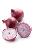 Sliced red onion Royalty Free Stock Images