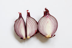 Sliced Red Onion Royalty Free Stock Photo
