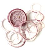 Sliced Red Onion Stock Photos