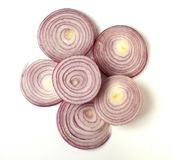 Sliced Red Onion Stock Image
