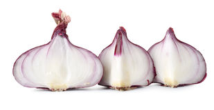 Sliced red onions Royalty Free Stock Photography