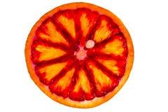 Sliced red orange Stock Photo
