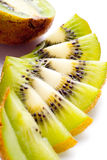 Sliced Ripe Kiwi Stock Photo