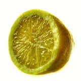 Sliced lemon citrus fruit Stock Photos