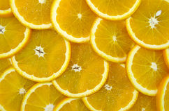 Sliced ripe oranges Stock Images