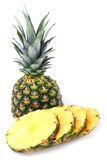 Sliced ripe pineapple Stock Image
