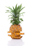 Sliced ripe pineapple Royalty Free Stock Image