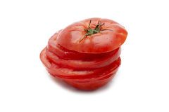 Sliced ripe tomato Royalty Free Stock Images