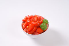 Sliced ripe tomatoes Royalty Free Stock Photos