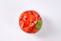 Sliced ripe tomatoes Stock Image