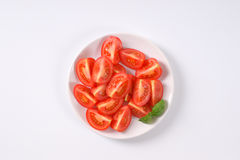 Sliced ripe tomatoes Royalty Free Stock Photo