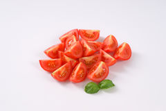 Sliced ripe tomatoes Stock Images