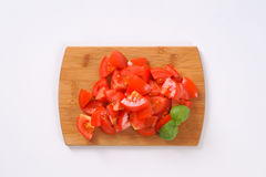 Sliced ripe tomatoes Royalty Free Stock Photography