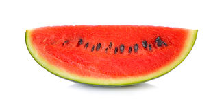 Free Sliced Ripe Watermelon Isolated On White Background Cutout Stock Photography - 59455472