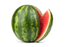 Sliced ripe watermelon Royalty Free Stock Photos