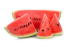 Sliced ripe watermelon Royalty Free Stock Photography