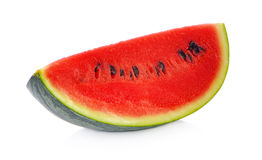 Sliced ripe watermelon isolated on white background cutout Royalty Free Stock Image