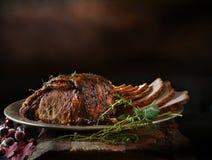 Sliced Roast Pork Stock Images