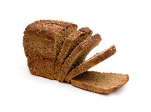 Sliced rye bread Stock Images