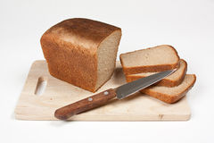Sliced rye bread Royalty Free Stock Photos