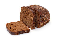 Sliced Rye Bread Stock Image
