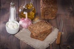 Sliced  rye bread Stock Photo