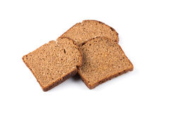 Sliced of rye bread Stock Images