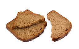 Sliced rye bread Royalty Free Stock Photos