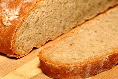 Sliced Rye Bread royalty free stock photo
