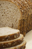 Sliced Rye And Wheat Breads Royalty Free Stock Image