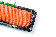 Sliced salmon Royalty Free Stock Image