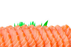 Sliced salmon Royalty Free Stock Images