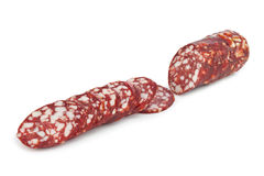 Sliced sausage Royalty Free Stock Photo