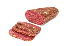 Sliced sausage Royalty Free Stock Image