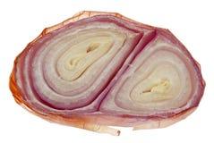 Sliced Shallot Onion Stock Photo