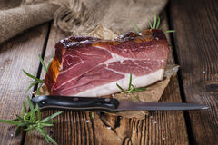 Sliced Smoked Ham Royalty Free Stock Photo