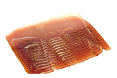Sliced smoked meat Royalty Free Stock Images