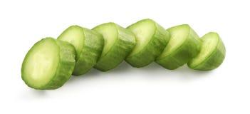 Sliced snack cucumber Stock Photo