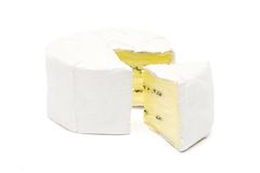 Sliced Soft Cheese royalty free stock images