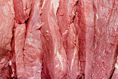 Sliced steaks Stock Images