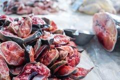 Sliced striped catfish Royalty Free Stock Photo