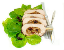 Sliced Stuffed Pork Roast Stock Photography