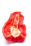 Sliced Sweet Pepper Stock Photography