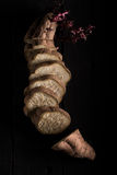 Sliced Sweet Potato Stock Photos
