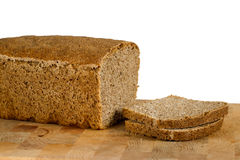 Sliced tin bread Stock Images