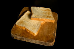 Sliced toast Royalty Free Stock Image