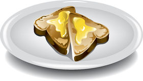 Sliced Toast Stock Images