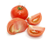 Sliced tomatoes Royalty Free Stock Photography