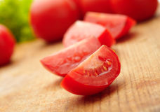 Sliced Tomatoes Royalty Free Stock Photo