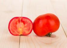 Sliced tomatoes Stock Photo
